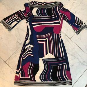 Womens Ali Ra 3/4 Sleeve Dress